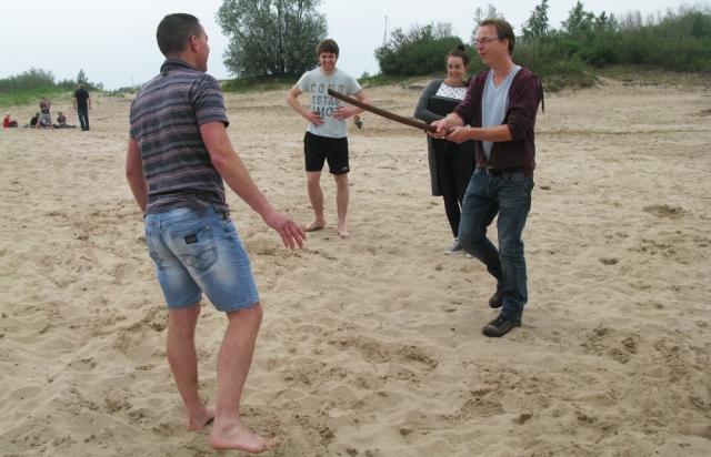 Gevechtstraining door Jacobus de Boer - Adema van Aikido Friesland