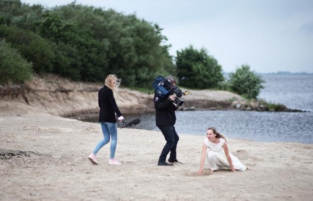 Omrop Fryslân filmt de enge duvelsfaam